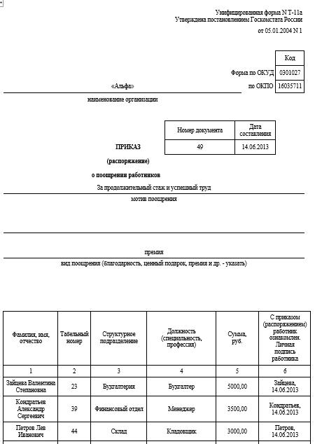образец характеристика на награждение заместителя директора по ахч