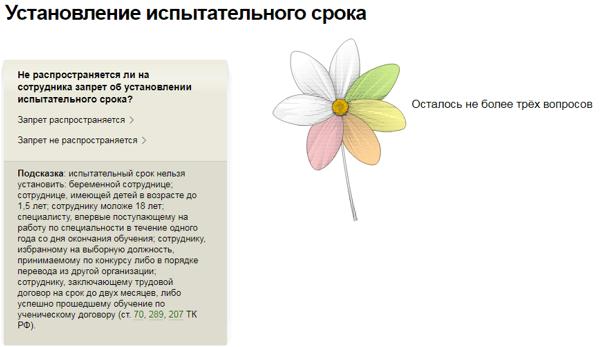 Испытательный срок ТК РФ