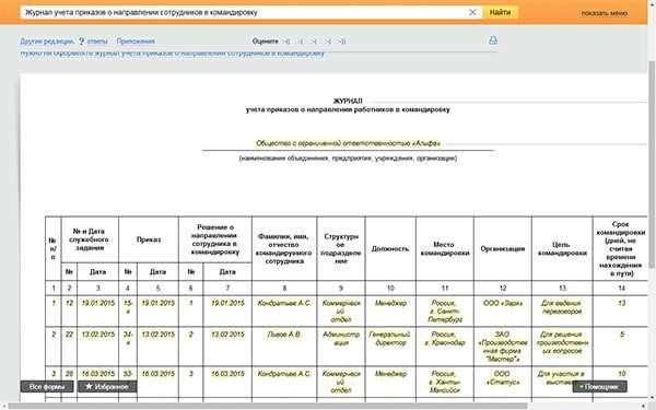 Образец журнала регистрации приказов по личному составу 2019.
