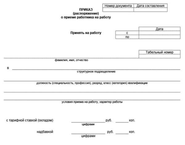 Дата увольнения и приема на работу в порядке перевода